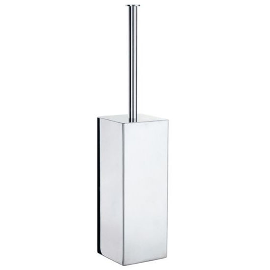 Smedbo - Toilet Brush w/Stand, Stainless Steel Polished Finish
