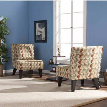 Holly & Martin™ Chappell Hill Chairs/Pillows, Clover Aegean, Set of 2