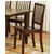 Steve Silver Branson Side Chair Set of 2, Espresso Finish