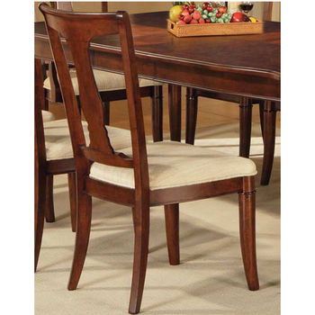Steve Silver Kennedy Side Chair Set, Cherry Finish