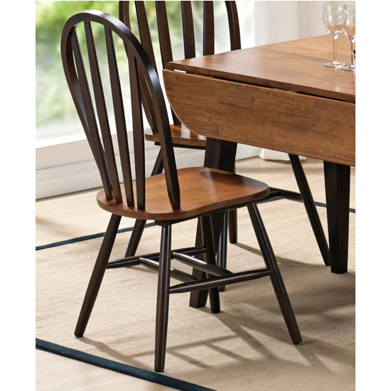 Steve Silver Seattle Side Chair Set of 2, Cherry Finish