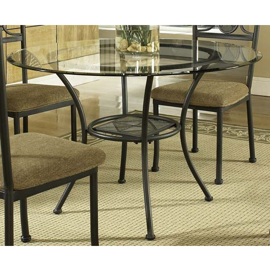 Round Glass Top Table Bases In Dining Room Furniture Compare