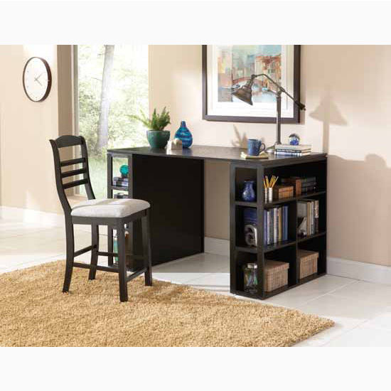 Steve Silver 3 Piece Cirrus Living Room Set with 2 End Tables & Cocktail Table, Glass Top and Black Metal Base