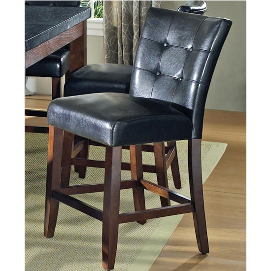 Steve Silver Granite Bello Counter Parsons Chair Set of 2, Cherry Finish