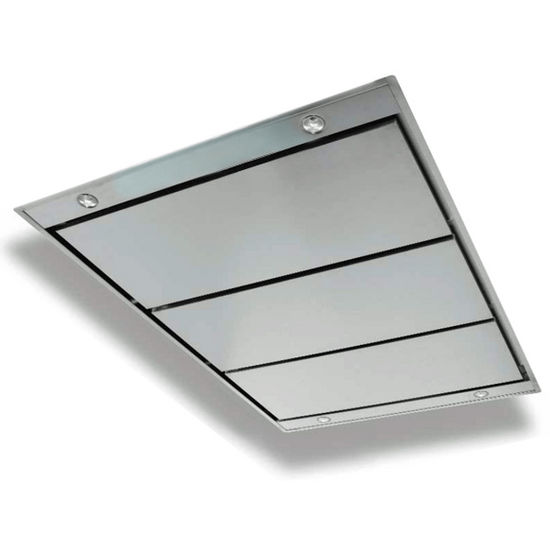 Contemporary Stainless Steel Ceiling Hood
