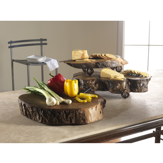 Myrtlewood Trivet Tables & Chopping Blocks