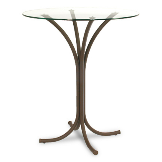 Trica Dorothy Counter & Bar Height Glass Tables