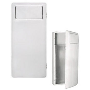 Wall Mounted Steel Receptacle | UN-200-GL