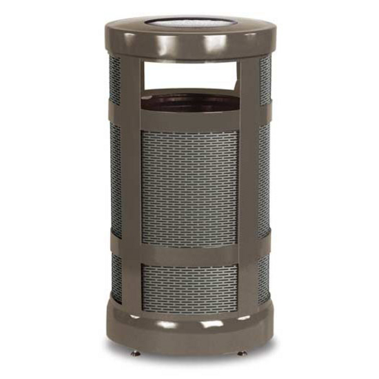 Hinged Canopy Top Ash/Trash Receptacle | UN-A17SUPL