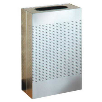 Rectangular Small Waste Receptacle