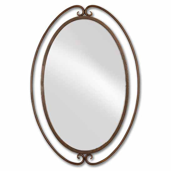 Uttermost Kilmer Iron Mirror