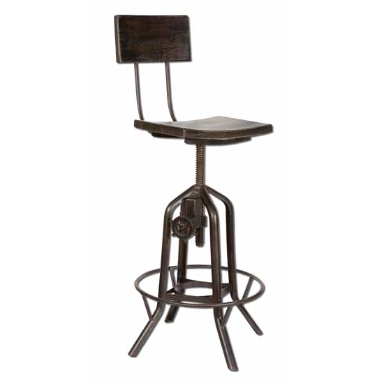 Uttermost Rosie Adjustable Bar Chair