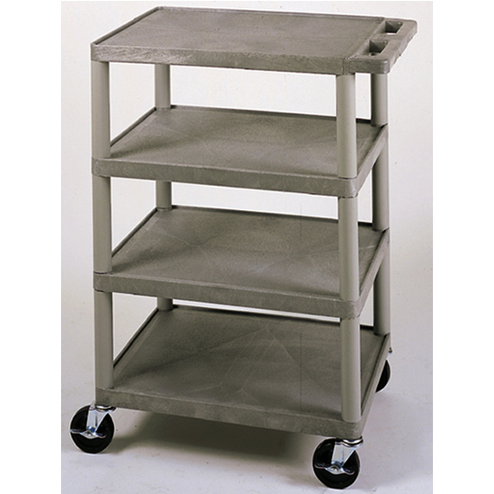 4 Shelf Banquet Serving Cart