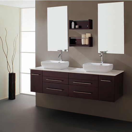 Virtu Augustine Complete Double Bath Vanity Set