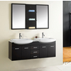 Ophelia Complete Double Bath Vanity Set