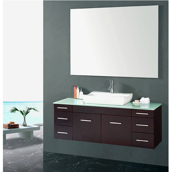 Bathroom cabinet floating bathroom cabinets for Floating bathroom cupboards