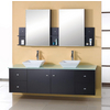 Clarissa 61 Double Bath Vanity Set, Espresso