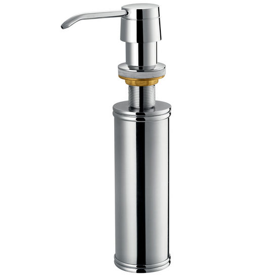 Vigo Kitchen Soap Dispenser, Chrome Finish