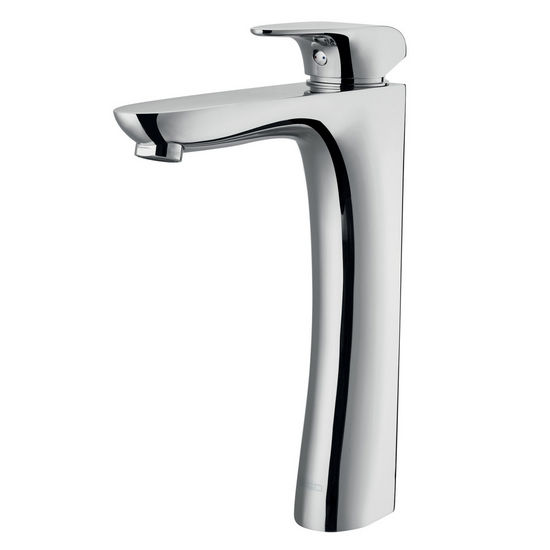 Vigo Erasma Vessel Faucet, Chrome Finish