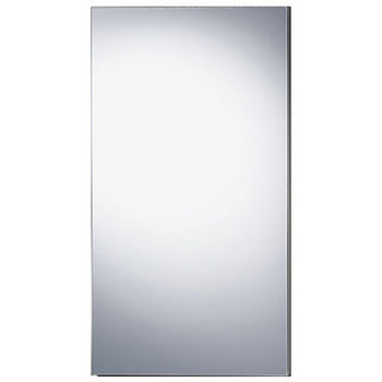 "Wave 15-1/8""W x 29-1/16""H Single Door Medicine Cabinet"