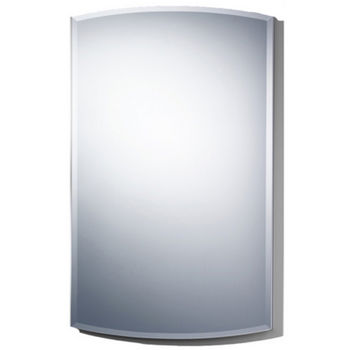 "Wave 18-5/8"" W Single Door Medicine Cabinets"