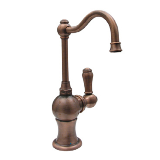 Kitchen Faucet w/Traditional Spout