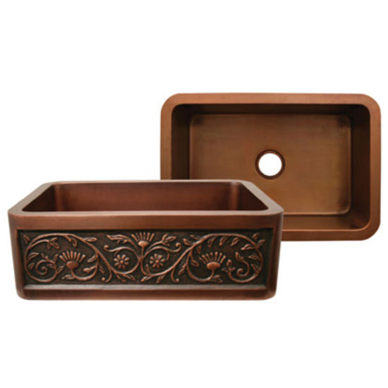 Copperhaus Collection Rectangular Sink