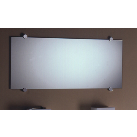 Frameless Rectangular Shaped Mirror