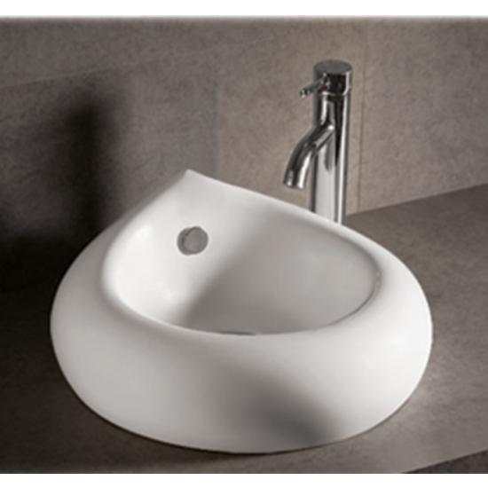 Isabella Teardrop Above-Mount Bath Sink