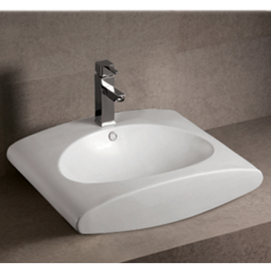 Isabella Rectangular Above-Mount Bath Sink
