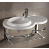 Round Bowl Bath Sink with Wall-Mount Basin