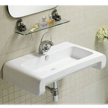 Isabella Rectangular Wall-Mount Bath Sink