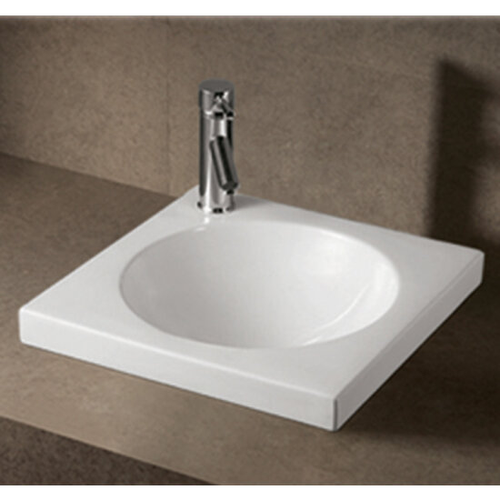 Isabella Square Drop-In Bath Sink by Whitehaus