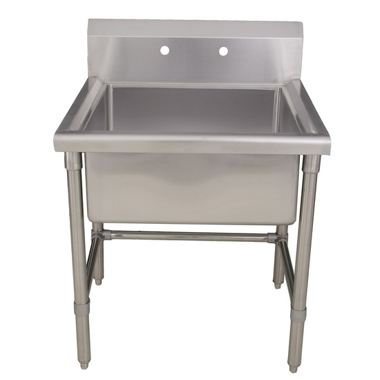 Utility Sinks : Noahs Collection Square Commercial Freestanding Laundry/ Utility Sink