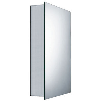 Whitehaus Single Door Medicine Cabinet with Double Faced Mirrored Doors