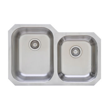 Great Lakes Series S/Steel Double Bowl Undermount Sink