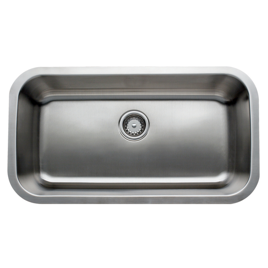 Undermount Stainless Steel Sink Single Bowl : Kitchen Sinks, Kitchen Sink - Shop for Sinks at Kitchen Acccesories ...