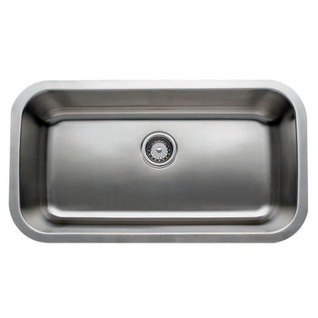 Great Lakes Stainless Steel Single Bowl Undermount Sink