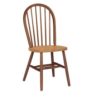 International Concepts Spindleback Chair, Cinnamon/Espresso