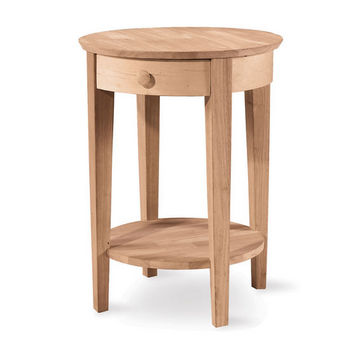International Concepts Accent Table w/ Drawer