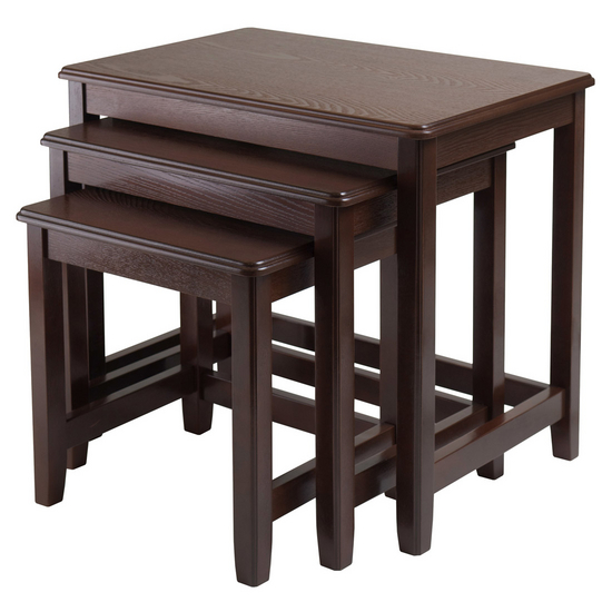 Winsome Wood Trina 3-Pc. Nesting Table