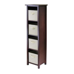 Winsome Wood Winsome - Verona 4-Section N Storage Shelf at Sears.com