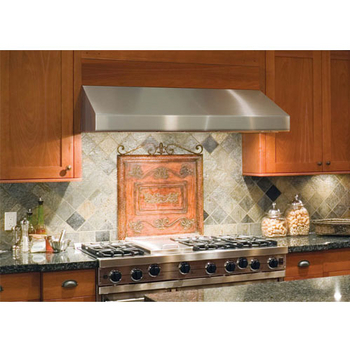 "Windster - Under Cabinet Range Hood, 30"" W - 48"" W, Stainless Steel"