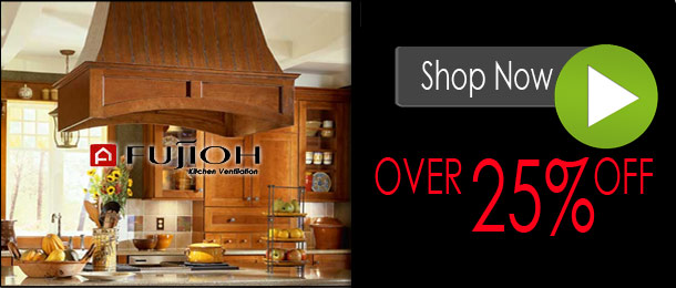 Fujioh Range Hoods, On Sale