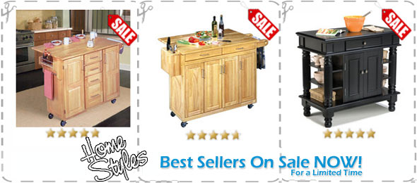 Home Styles Kitchen Carts on Sale