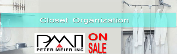 Peter Meier Closet Organizers On Sale