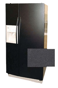 Metallic Finish Collection Refrigerator Panel Kit by Frigo