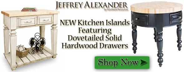 New Jeffrey Alexander Kitchen Islands