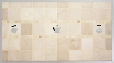 Classico Tumbled Marble Decorative Backsplash