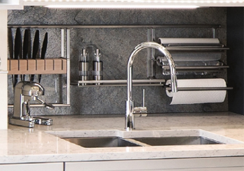 Hafele Backsplash Storage Systems